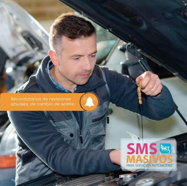 SMS Masivos para Centros de Servicios automotriz