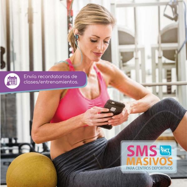SMS Masivos para centros deportivos