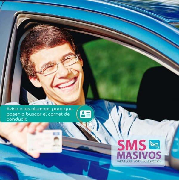 SMS Masivos para escuelas de conducción